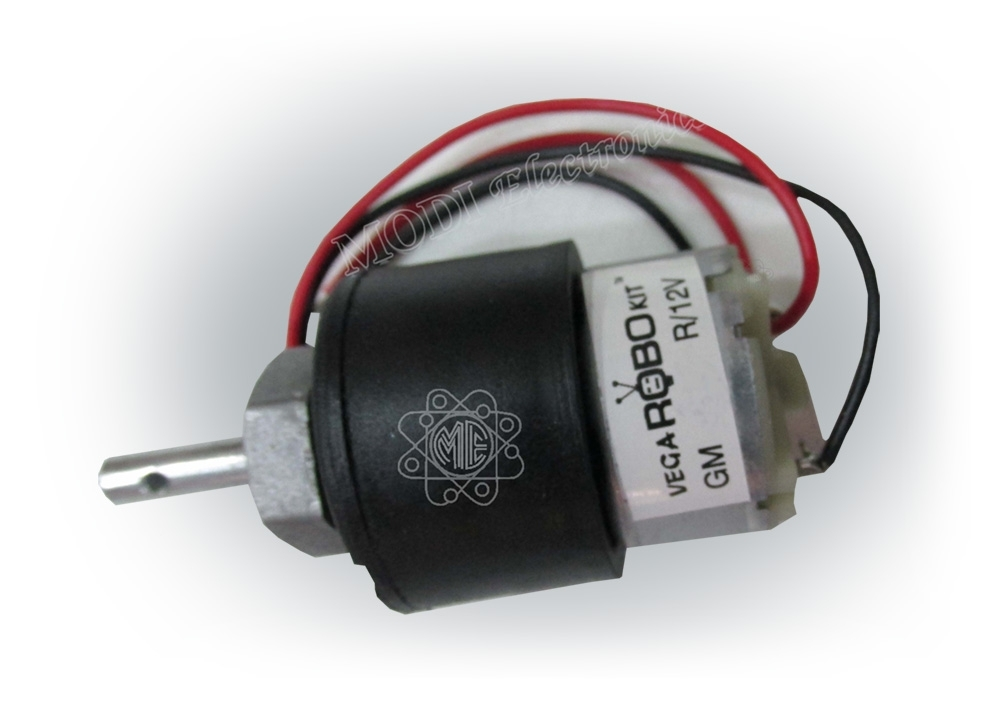 100 RPM geared motor