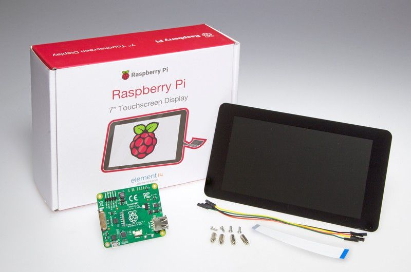 "RASPBERRY PI DISPLAY (Official) - 7"" TOUCHSCREEN"